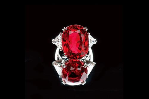卡西露西亚红宝石戒指