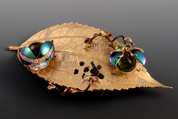 这些珠宝设计师中,不仅有本土设计院校培养走出的