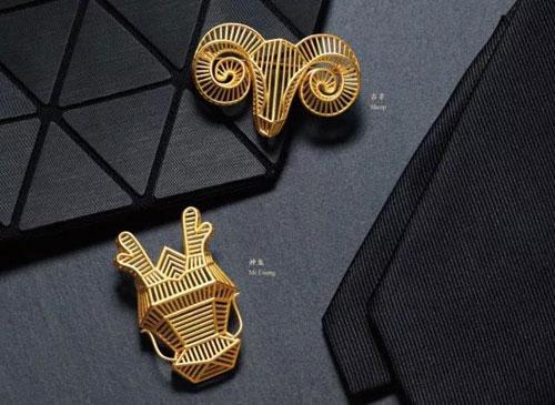 展现传统生肖文化与现代首饰设计融合的独特魅力,从而促进珠宝产业对