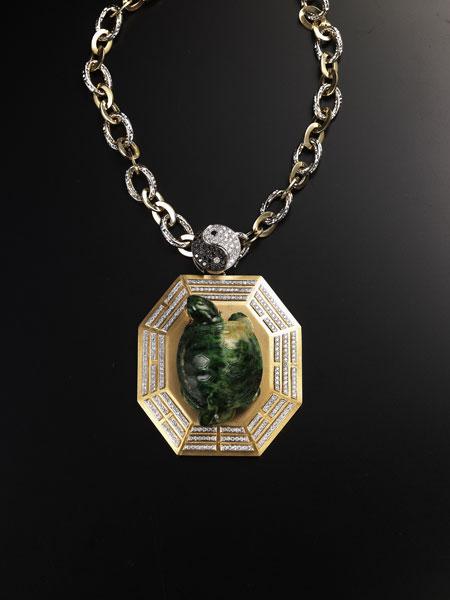 特色设计师展区,呈现创意风格 深耕大陆多年,许多台湾的珠宝